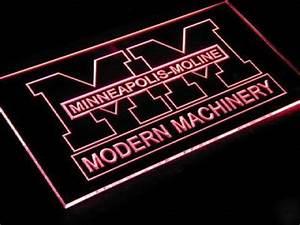 Minneapolis moline neon sign light display dealer J031