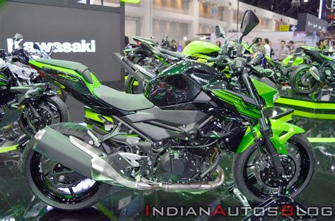 India-bound Kawasaki Z400 At The Thai Motor Expo 2018