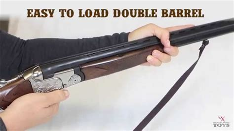 beretta double barrel rifle black youtube