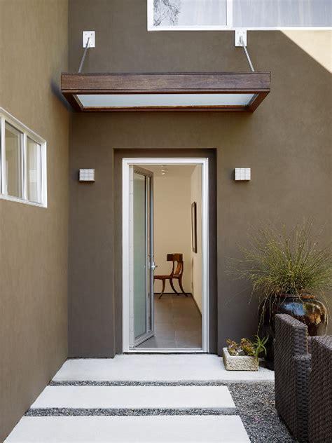 front entry canopy contemporary exterior san francisco  mark english architects aia