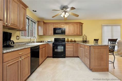 wood kitchen cabinets image result for http www kitchen design ideas Yellow