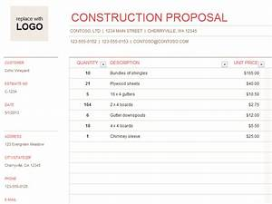 Building/Constr... Construction Material Quotes