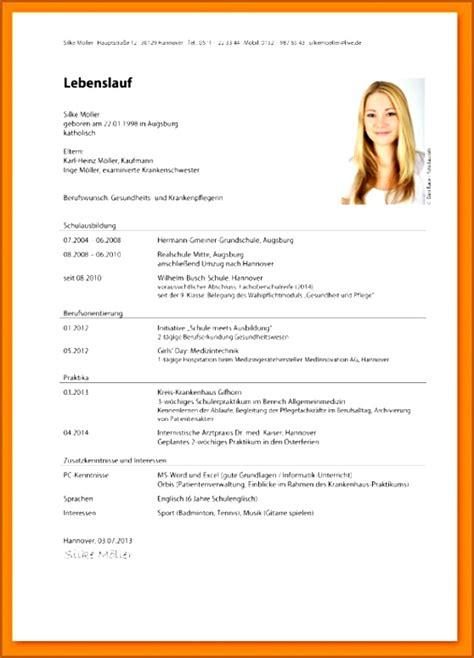 Lebenslauf Uni Bewerbung by 8 Lebenslauf Uni Muster Vorlagen123 Vorlagen123