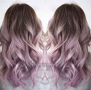 Brunette to lilac ombré | Hair | Pinterest | Ombre, Lilacs ...