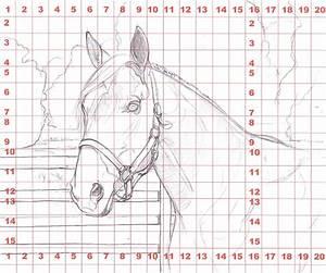 Grid Drawing At Getdrawings