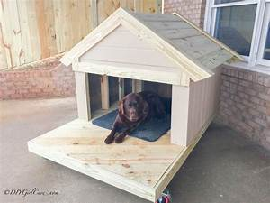 diy dog house diygirlcavecom With easy diy dog house