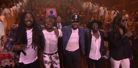chance  rapper friends bring blessings  jimmy
