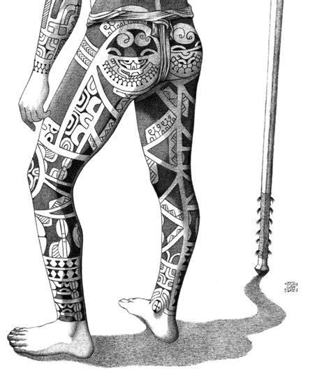 tatouage des iles marquises illus doc 171 patrice cablat