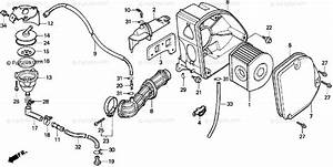 Honda Scooter 1999 Oem Parts Diagram For Air Cleaner
