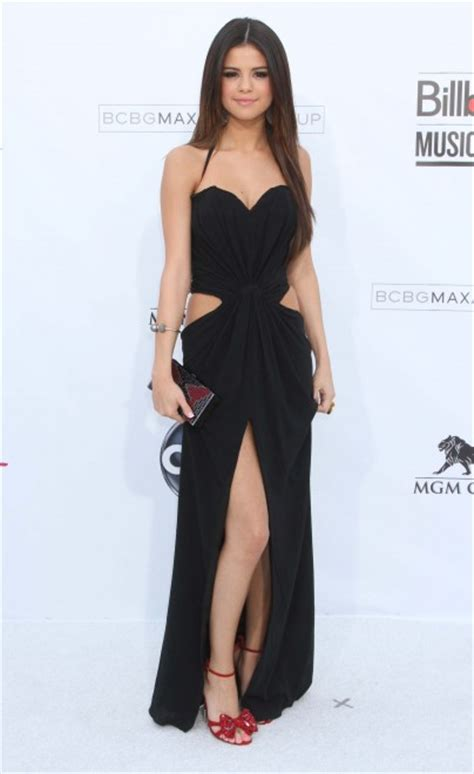 Steal her Style: Selena Gomez's Cutout LBD - FLARE