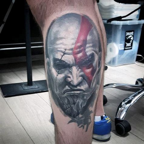 kratos tattoo designs  men god  war ink ideas