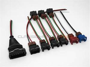 Fuel Injector Maf Tps Wiring Harness Connector Kit For