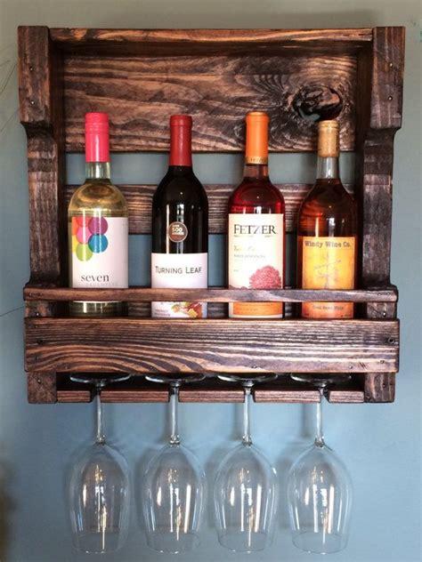 sale wine rack pallet wood reclaimed  lovemade
