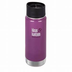 Klean Kanteen Wide Mouth 16 oz. Insulated Bottle with Cafe ...