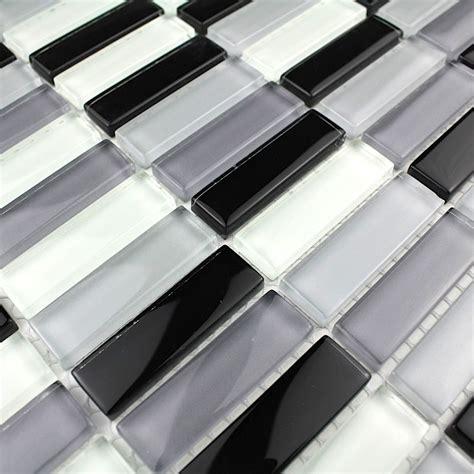 credence verre salle de bain cr 233 dence verre mosa 239 que verre rectangular noir carrelage inox fr
