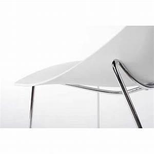 Chaise Blanche Design - Maison Design - Sphena com