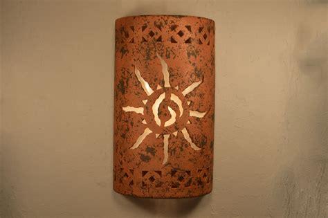 southwest ceramic lighting 14 quot open top ancient sun center