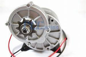 24v 350w Electric Motor W   Gear 9t Sprocket 24 Volt 350