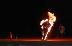 SHOCKING: Man Sets Himself On Fire Then Embraces ...