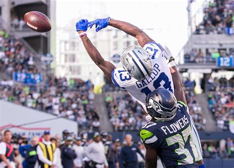 potential playoff preview cowboys host seahawks