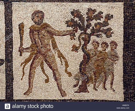 Der Garten Der Hesperiden by R 246 Misches Mosaik Die Arbeiten Des Herkules Herakles Die
