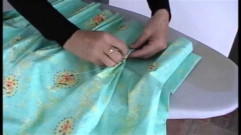 How To Make Drapery by How To Make Pinch Pleat Curtains Part 2