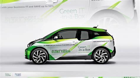 catchy  clever car design  bmw  green eco
