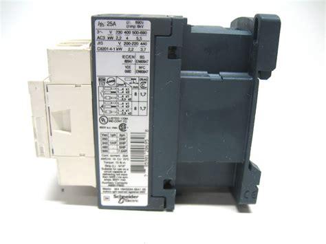 telemecanique lc1 d09 contactor 200 690v coil 25 3 pole ebay