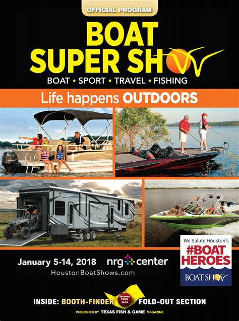 Houston Boat Show 2018 by 2018 Houston Boat Show Official Program By Fishing