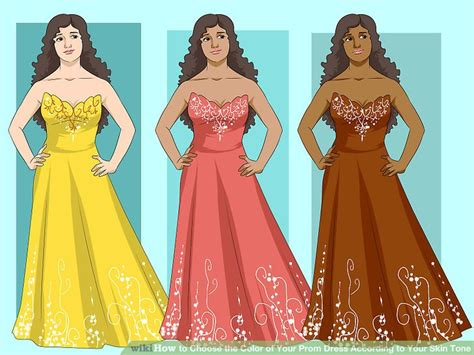 color prom dress 4 ways to choose the color of your prom dress according to