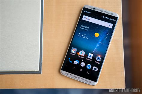 zte axon  hands  android authority