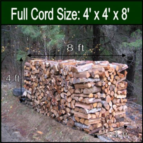 how much wood is in a cord firewood rancho cucamonga ruiz tree service