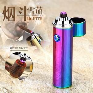New Double Arc Cigar Lighter Cigarette Usb Charging