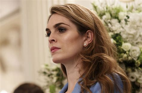 Hope Hicks acknowledges 'white lies' for Trump, but not on ...