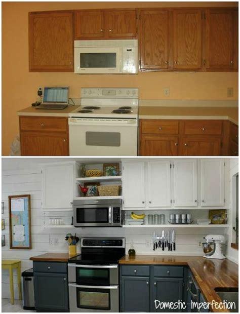 Kitchen Cabinet Remodel Diy by Amazing Diy Kitchen Makeover Diy Cozy Home