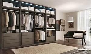Dressing Autour Du Lit : 10 stylish open closet ideas for an organized trendy bedroom ~ Premium-room.com Idées de Décoration