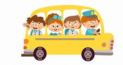Bus Clipart Animated Kindergarten Lake Orienta Elementary