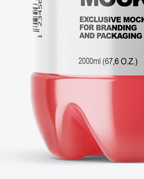 Find images of pet bottle. PET Bottle with Pink Grapefruit Drink Mockup in Bottle ...
