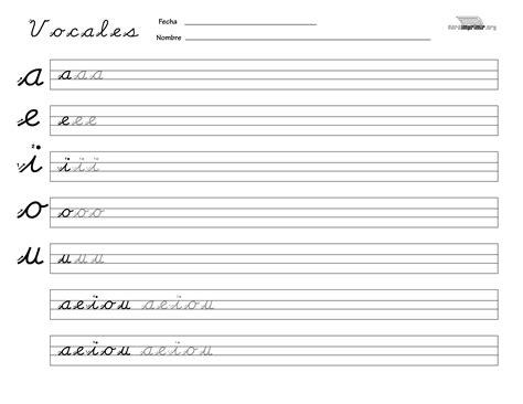 escritura vocales script by educapapyrus issuu apktodownload