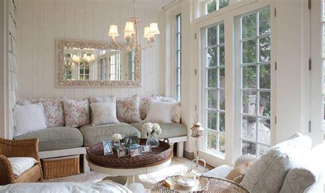decorative wall shelf ideas obývací pokoj v provensálském stylu