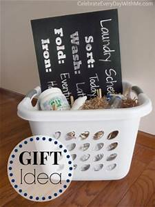 Gift Idea Laundry Theme Basket Kids Activities