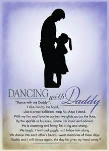 Dance with Me Daddy Poem
