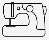 Machine Svg Sewing Graphic Coloring Clipart Pinclipart Icon Sheet sketch template