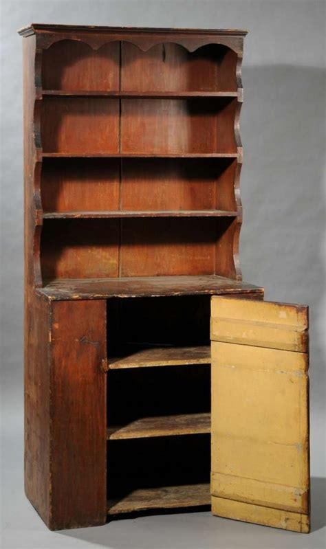 Pewter Cupboard by Early Pewter Cupboard Antiques