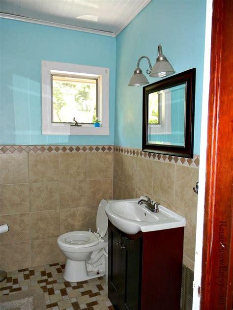 frugal diy bathroom remodel reuse grow enjoy