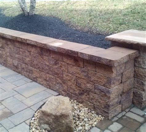 How To Build A Cinder Concrete Block Retaining Wall