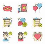 Icon Customer Feedback Icons Packs Library Vector