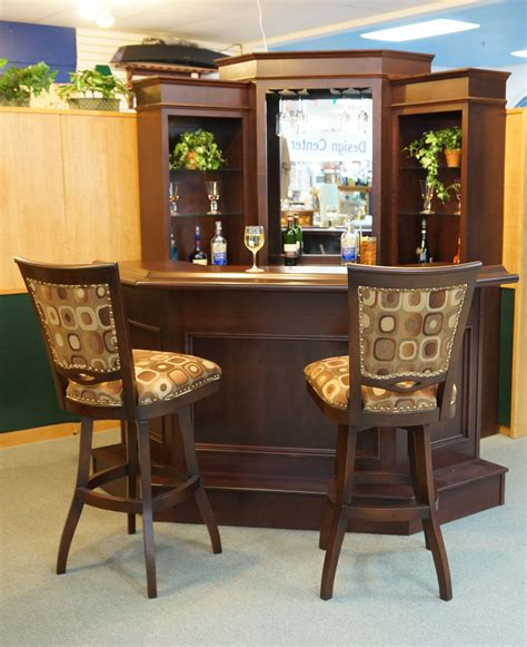 Corner Bar Furniture For The Home by Corner Bar By Primocraft With Barstools By Tobias Designs