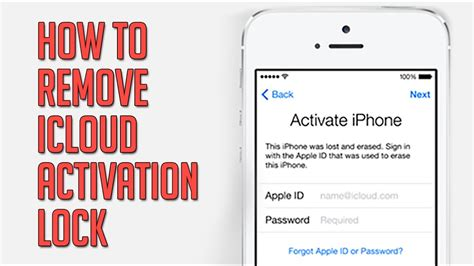 iphone activation lock steps to remove icloud activation lock 11578