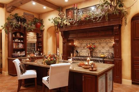 custom kitchen islands that look like furniture how to achieve the tuscan style for your kitchen